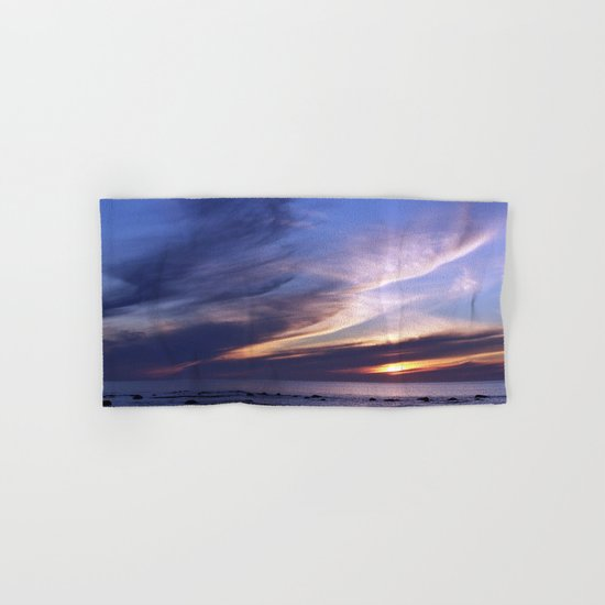 Feathered Clouds at Sunset Hand & Bath Towel