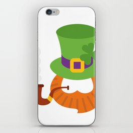 Funny St. Patrick's Day for Kids Boy iPhone Skin