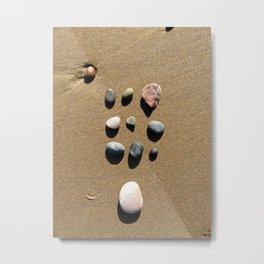Organized Stones  Metal Print