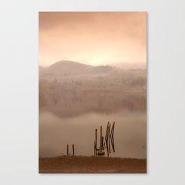 Dusk Over Derwent Canvas Print