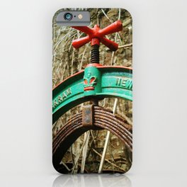 OLD LAUNDRY MANGLE TOP iPhone Case