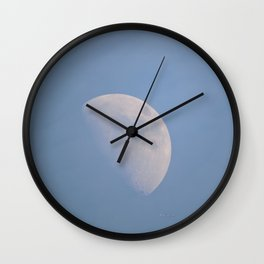 January Half Moon Wall Clock