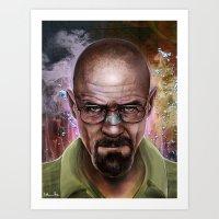 heisenberg Art Prints featuring Heisenberg by Isabella Morawetz