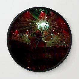 LCD Disco Wall Clock