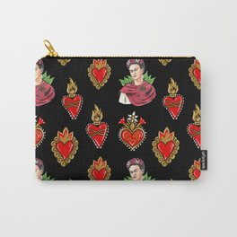 Sacred Hearts and Frida Carry-All Pouch