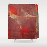 moon phases Shower Curtains featuring Moon Phases by Fernando Vieira