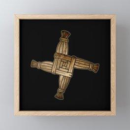 Saint Brigid's Cross Framed Mini Art Print