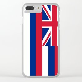 Flag of Hawaii, High Quality image Clear iPhone Case