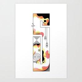 s typo Art Print