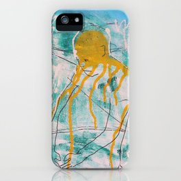 Oldman in a Park iPhone Case