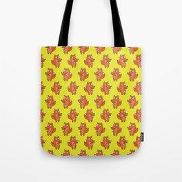 Cow Fox Tote Bag