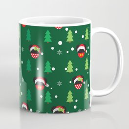 Christmas Santa Mouse Ears Coffee Mug