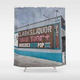 Liquor Store Hawthorne Shower Curtain
