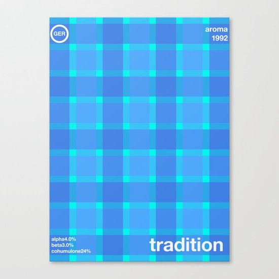 tradition single hop Canvas Print