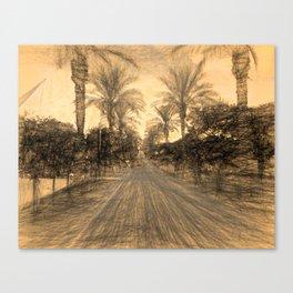 The Raanana Park 2 Canvas Print