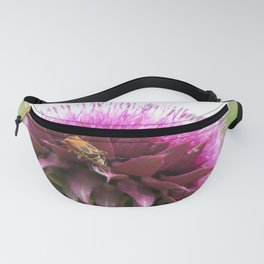 Bug on a thistle Fanny Pack