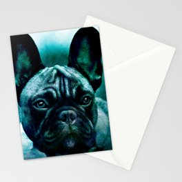 french bulldog /Agat/ Stationery Cards