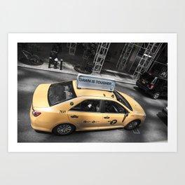 DAWN Taxi in NY Art Print