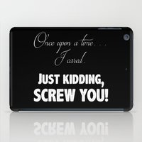 fairy tale iPad Cases featuring Fairy Tale by Truth be Told