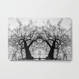 Dark Leaves by Charles Mike Metal Print