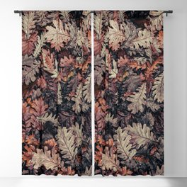 Autumn Leaves - HD Nature Textures Blackout Curtain