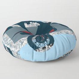 Flying Freestyle Moto-x Champ Floor Pillow