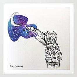 Space Beneath Us - Breakable Art Print