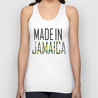 jamaica Tank Tops featuring Made In Jamaica by VirgoSpice