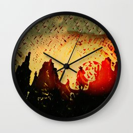 Sundowner Wall Clock