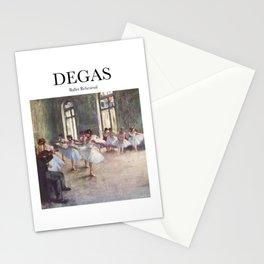 Degas - Ballet Rehearsal Stationery Cards