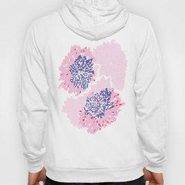Pink Floral spark Hoody