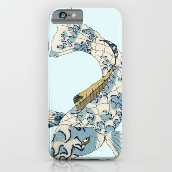 Koi japanese fish number two iPhone & iPod Case