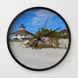 Dunes on Gasparilla I Wall Clock