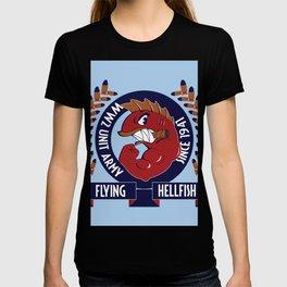 Flying Hellfish ARMY T-shirt
