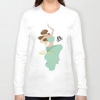 libra Long Sleeve T-shirts featuring Libra by Rejdzy