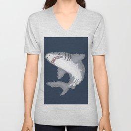 Shark Byte Unisex V-Neck