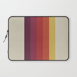 Retro Video Cassette Color Palette Laptop Sleeve