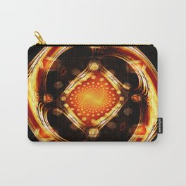 Divine Wheel of Mirrors Carry-All Pouch