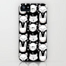 Scandinavian Forest iPhone Case