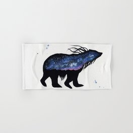 Milky Way Bear Hand & Bath Towel