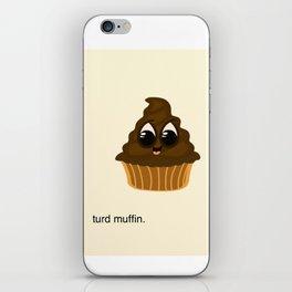 Turd Muffin iPhone Skin