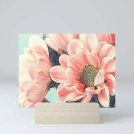 Lovely pale pink flowers Mini Art Print