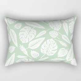 Pastel Monstera Rectangular Pillow