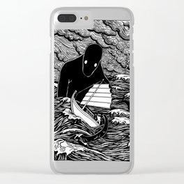 Umibōzu 海坊主 Clear iPhone Case
