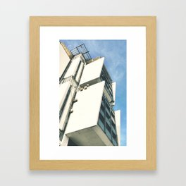 Saturn hotel Framed Art Print