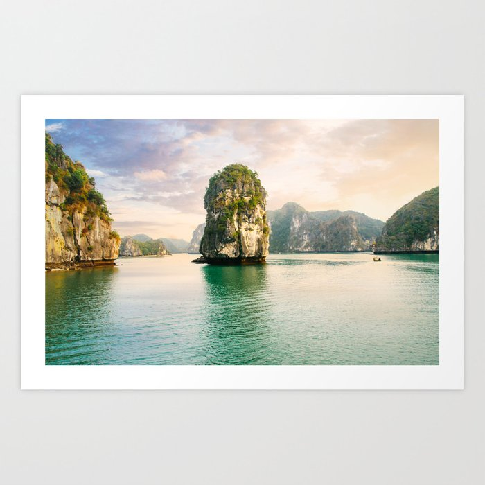 Halong Bay Fine Art Print  • Travel Photography • Wall Art Art Print