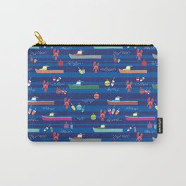 Lobster Boats Carry-All Pouch