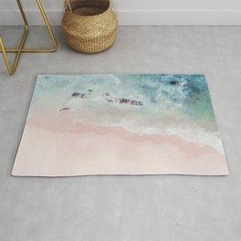 Ocean Pink Blush Rug
