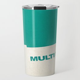 The Fifth Element, if it were a Penguin Book. Travel Mug