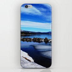 Tahoe City iPhone & iPod Skin